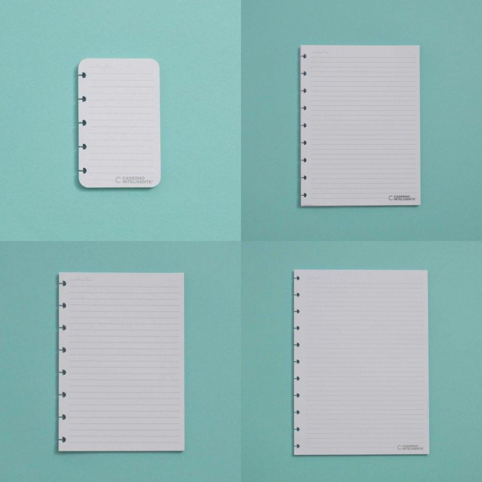 Refil Caderno Inteligente Pautado