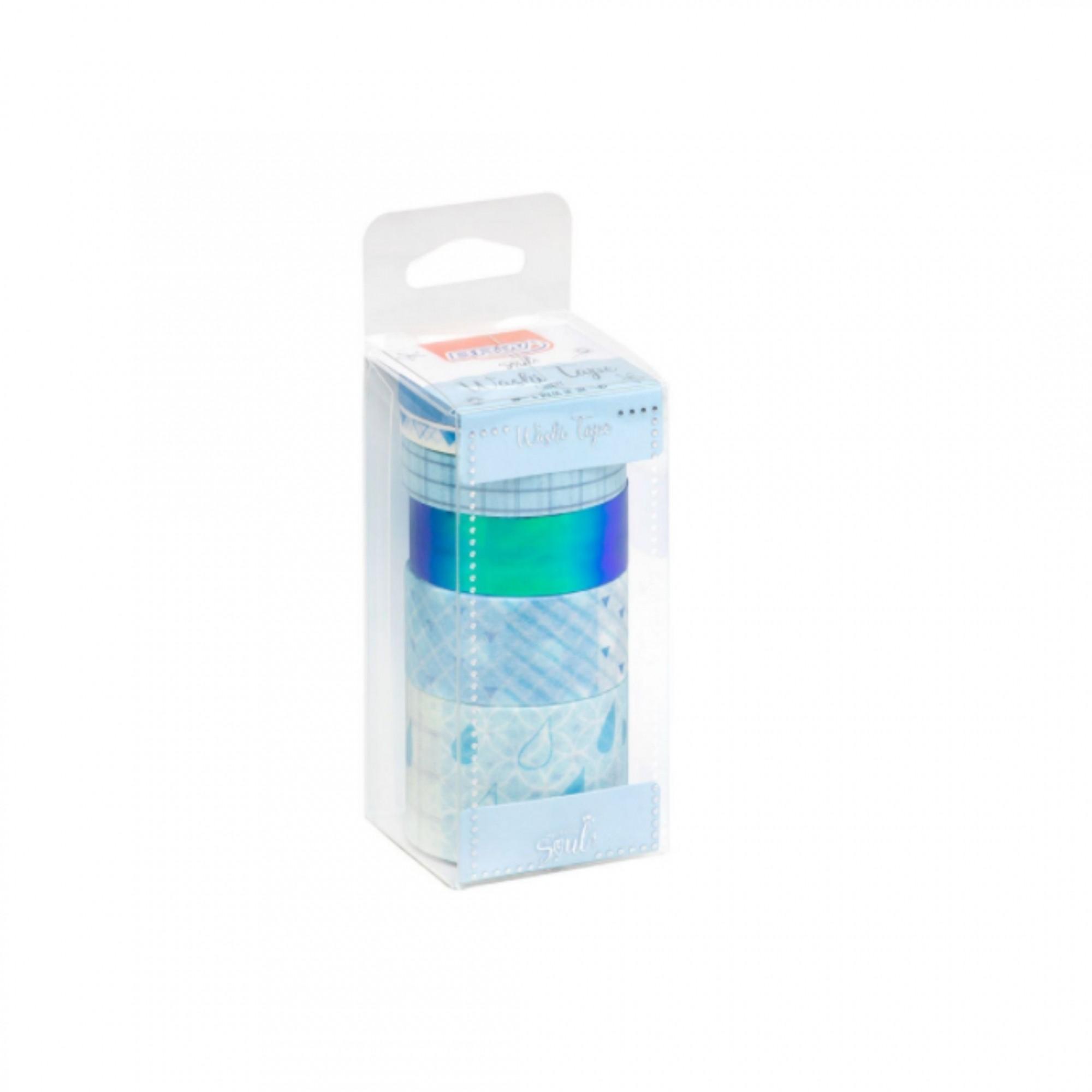 Washi Tape Candy BRW c/4 fitas adesivas