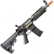 RIFLE DE AIRSOFT AEG M4 CQB R STYLE FULL METAL COM BLOWBACK ASR103 - APS