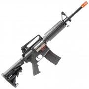 RIFLE DE AIRSOFT AEG M4A1 STYLE KOMPETITOR COM BLOWBACK PR301B - APS