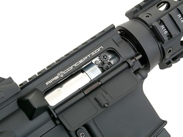 RIFLE AIRSOFT AEG M4A1 CQB STYLE FULL METAL COM BLOWBACK ASR102 - APS
