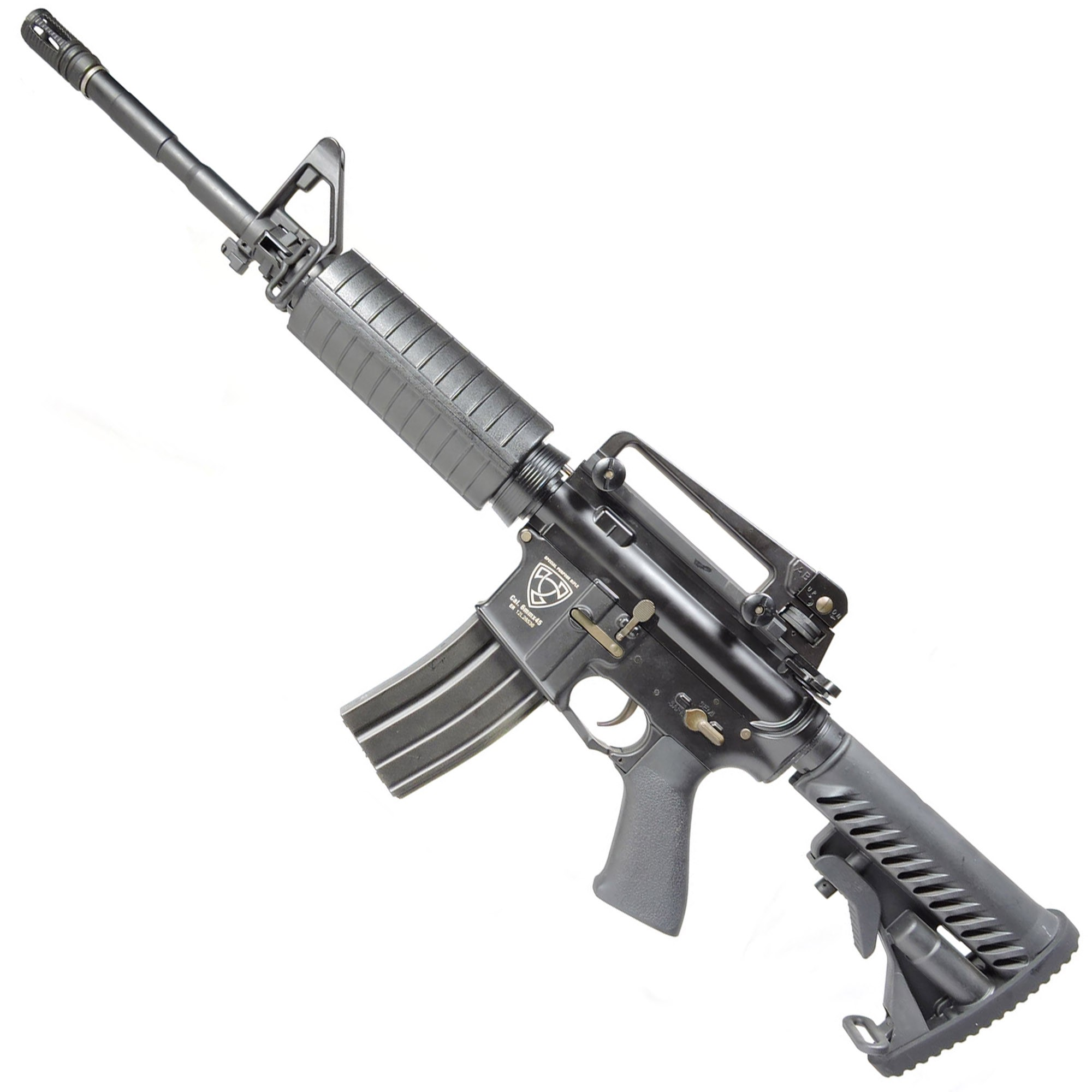 RIFLE AIRSOFT AEG M4A1 STYLE FULL METAL BLOW BACK ASR101 - APS
