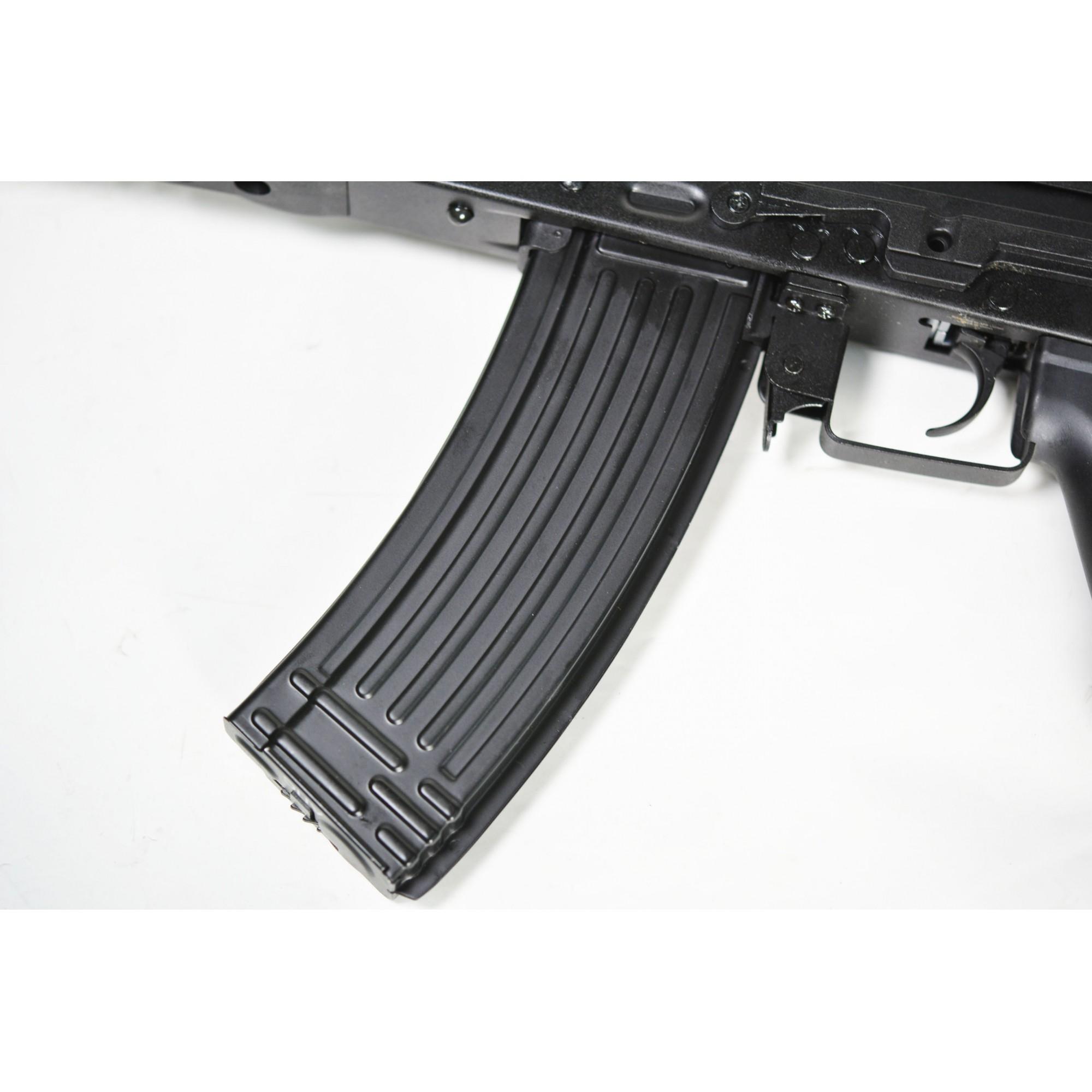 RIFLE DE AIRSOFT AEG TACTICAL AK74 BLACK ASK204P - APS