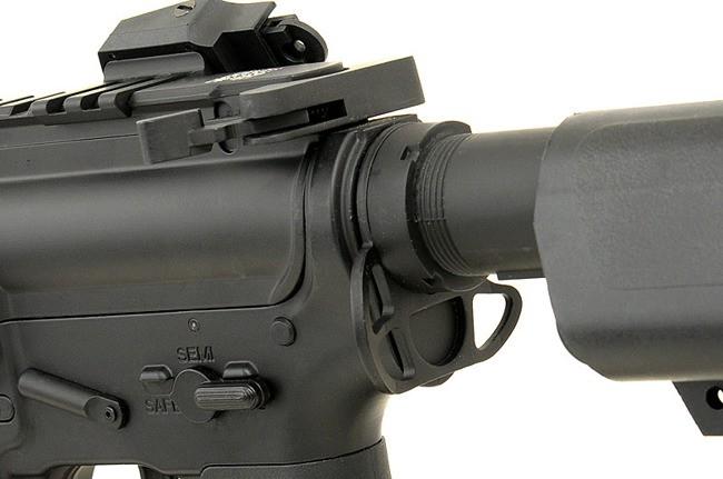 "RIFLE DE AIRSOFT AEG M4 12.5"" KEYMOD SPYDER FULL METAL BLOWBACK ASR115 - APS"