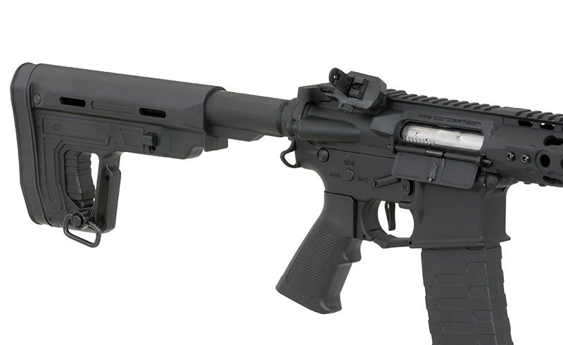 "RIFLE DE AIRSOFT AEG M4 12.5"" KEYMOD SPYDER FULL METAL BLOWBACK ASR115R1 - APS"
