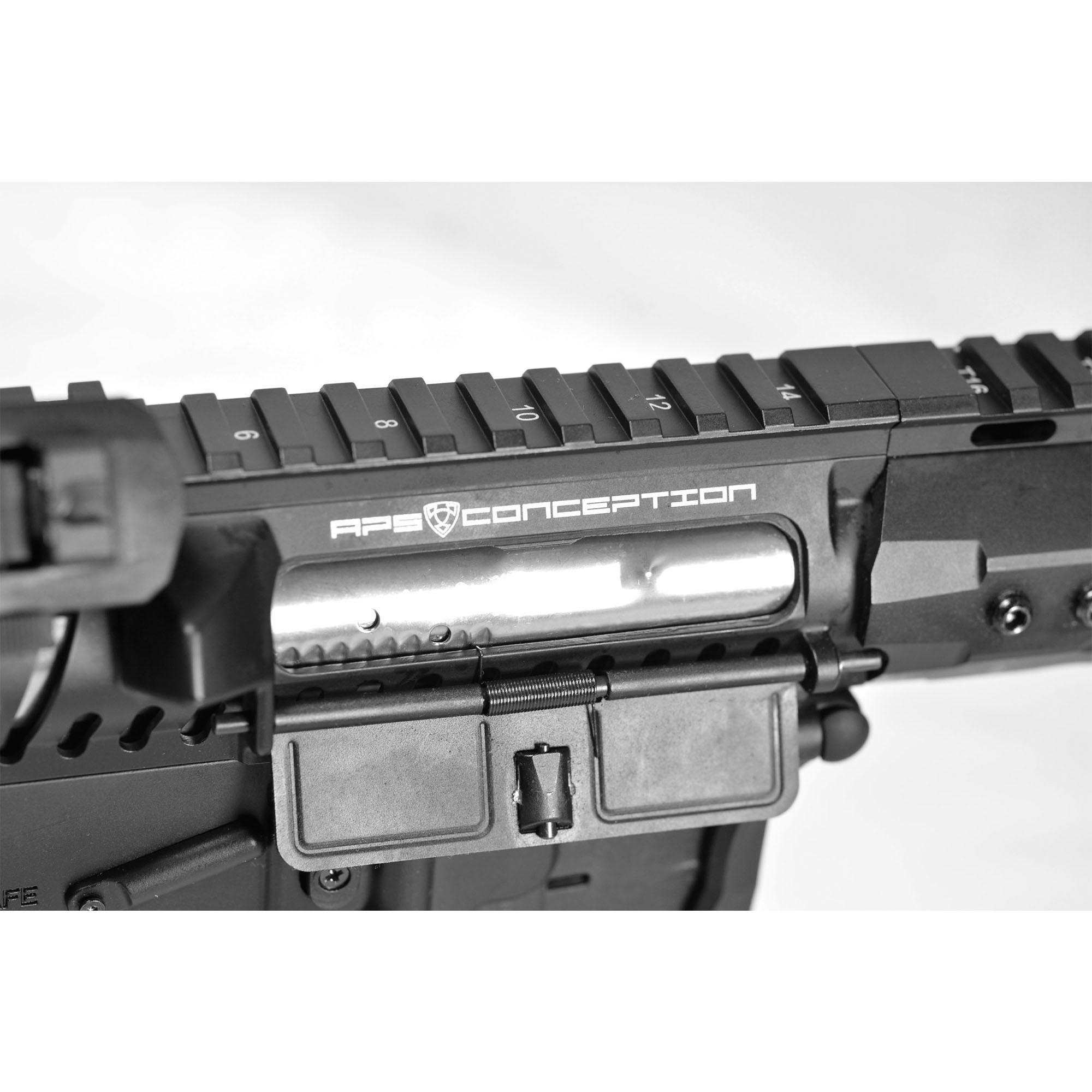 RIFLE DE AIRSOFT AEG M4 BLACK DRAGON FMR MOD1 RB FULL METAL BLOWBACK ASR120B - APS