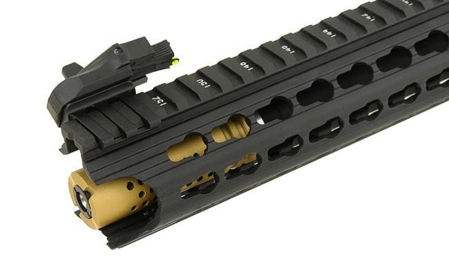 RIFLE DE AIRSOFT AEG M4 BOAR COMPETITION KEYMOD FULL METAL BLOWBACK ASR118 - APS