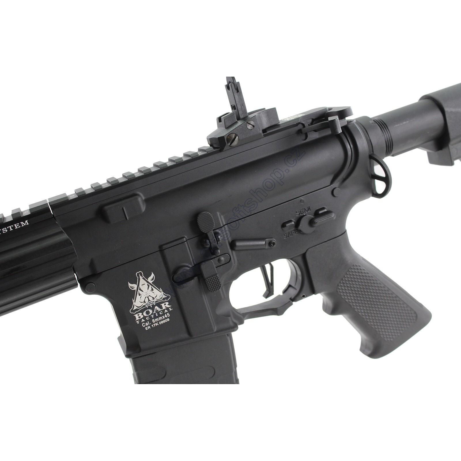 RIFLE DE AIRSOFT AEG M4 BOAR TACTICAL KEYMOD RIFLE FULL METAL BLOWBACK ASR117R1 - APS