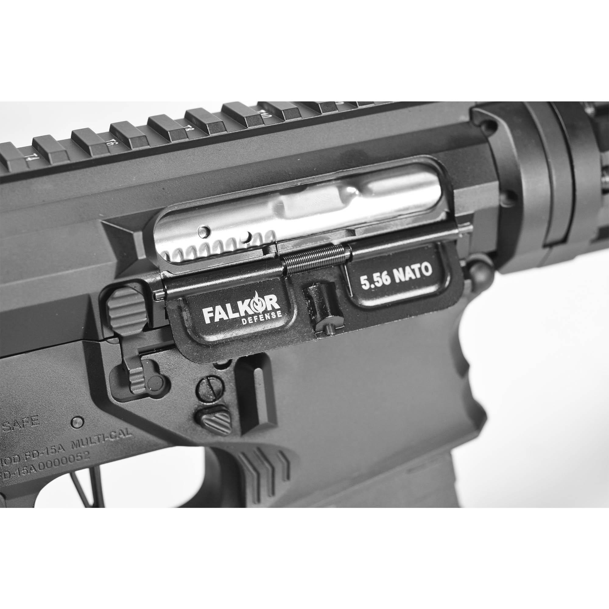 RIFLE DE AIRSOFT AEG M4 FALKOR DEFENSE BLITZ AMBI SBR BLACK 10,5 eFD-B-B EMG