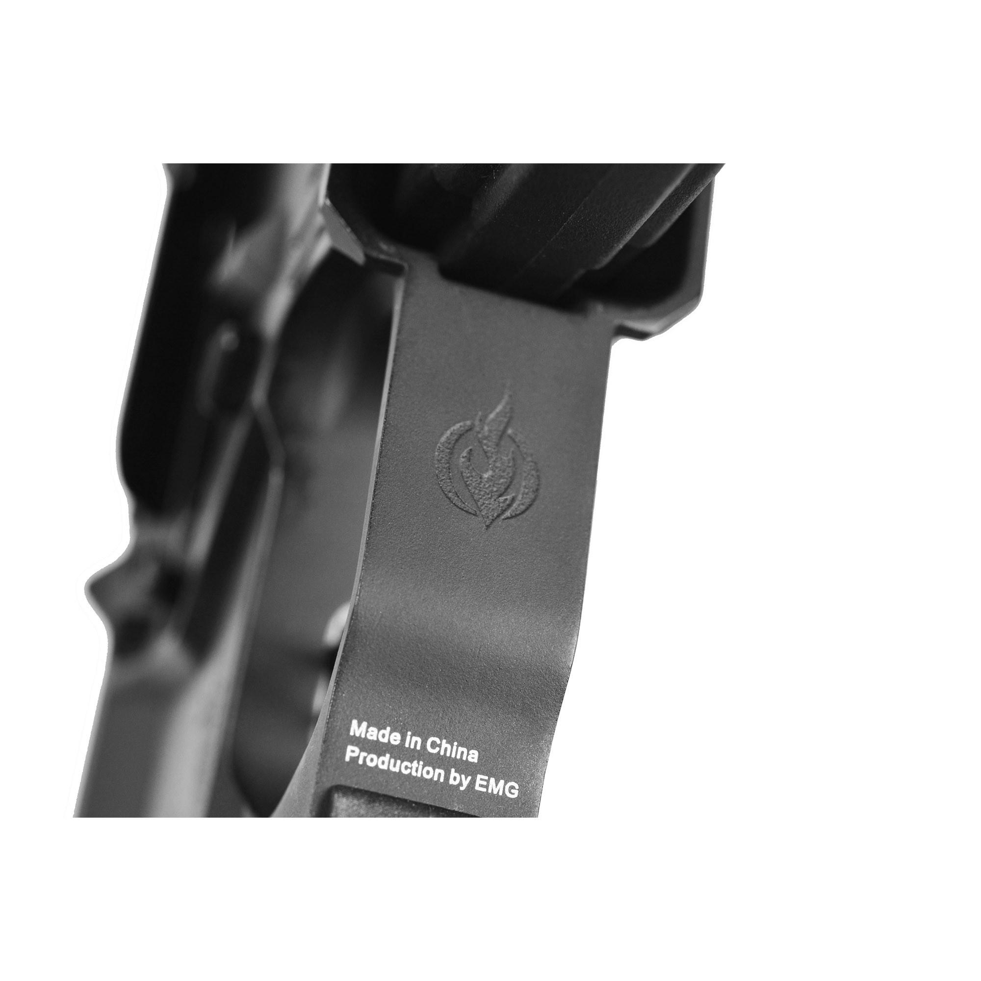 RIFLE DE AIRSOFT AEG M4 FALKOR DEFENSE RECCE 223 AMBI BLACK 14,5 eFD-R-B - EMG