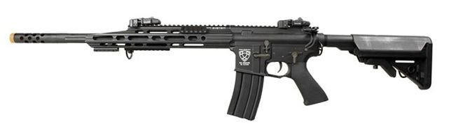RIFLE DE AIRSOFT AEG M4 GUARDIAN MATCH STYLE FULL METAL BLOWBACK ASR110-B - APS