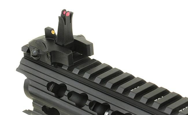 RIFLE DE AIRSOFT AEG M4 LOW PROFILE ADAPT LPA RAIL SYSTEM RIFLE FULL METAL BLOWBACK ASR116 - APS