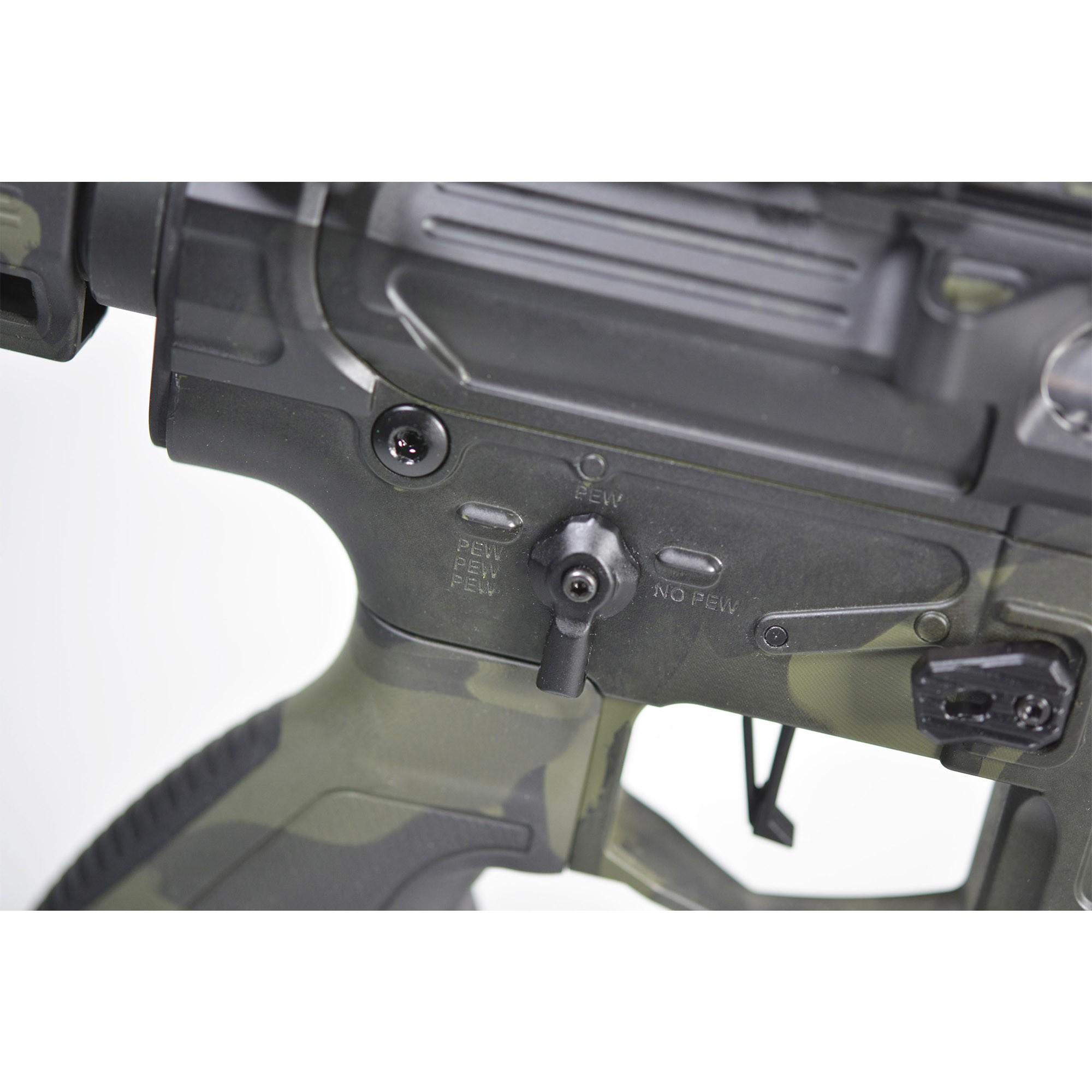 RIFLE DE AIRSOFT AEG M4 PHANTOM EXTREMIS RIFLES BLACKL MULTCAM MKV 10 FULL METAL BOWBACK PER705 - APS
