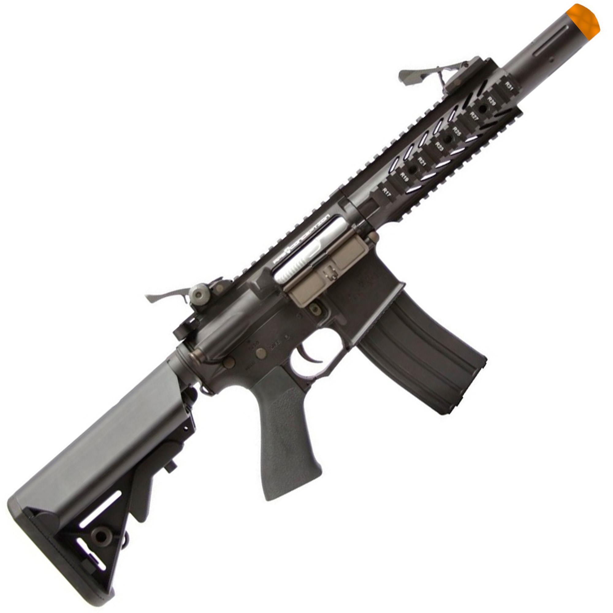 RIFLE DE AIRSOFT AEG M4 RAPTOR STYLE FULL METAL COM BLOWBACK ASR107 - APS