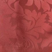 Cortina Vinho Cetim Jacquard 5,50x2,80m com ilhós cromado exclusiva