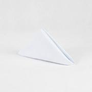 Guardanapo de algodão 50 x 50 liso branco