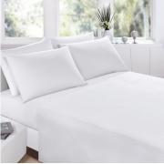 Jogo de cama casal Prata branco