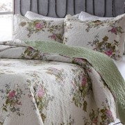 Kit Colcha Boutis_Casal / Queen_floral