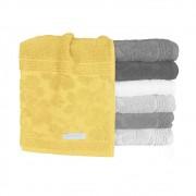 Toalha Avulsa Buddemeyer • Rosto / Banho / Banhão • Amarela