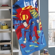 Toalha de banho Dohler Velour Superman