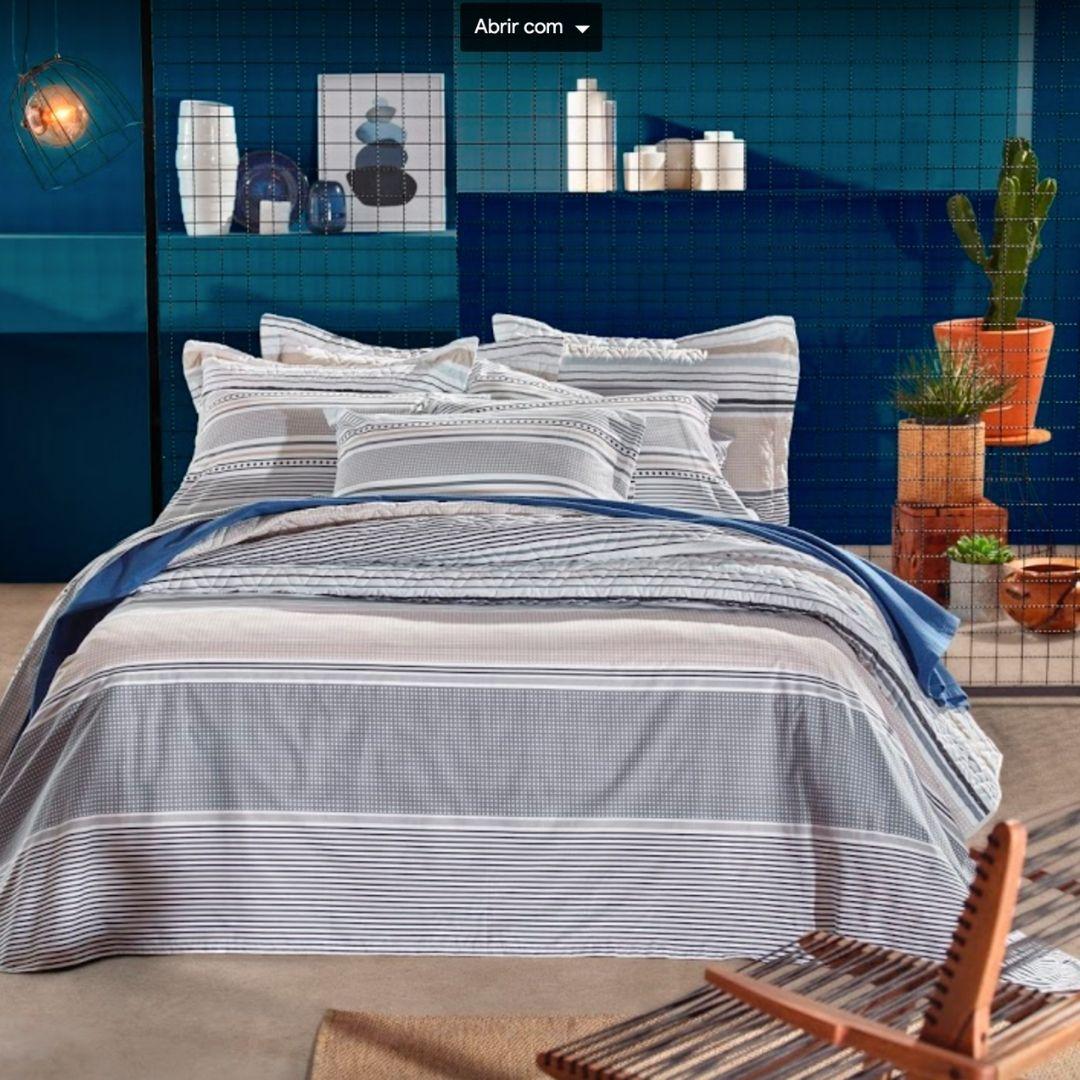 Jogo de Cama  Casal / Queen Home design Erik
