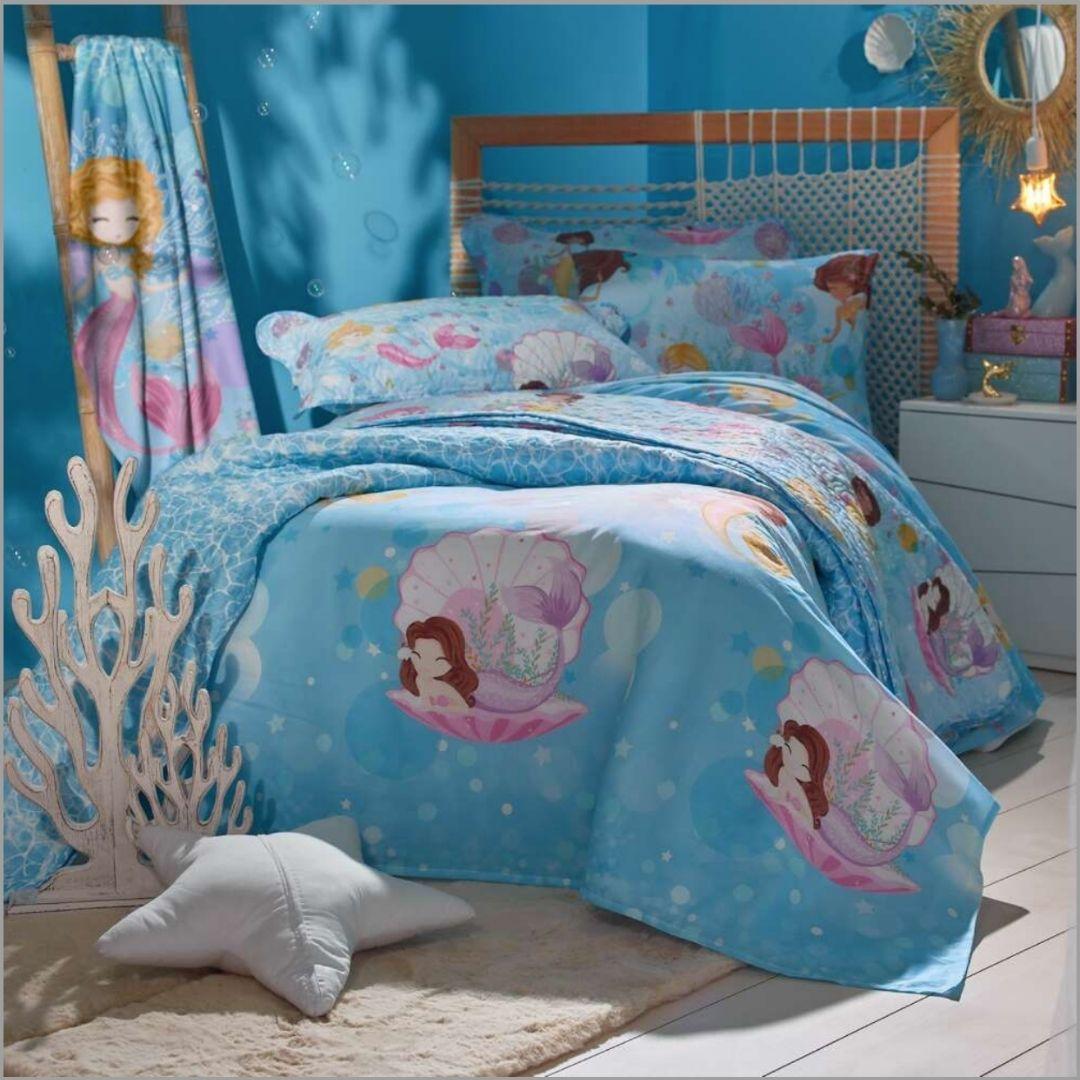 Jogo de cama Sereia