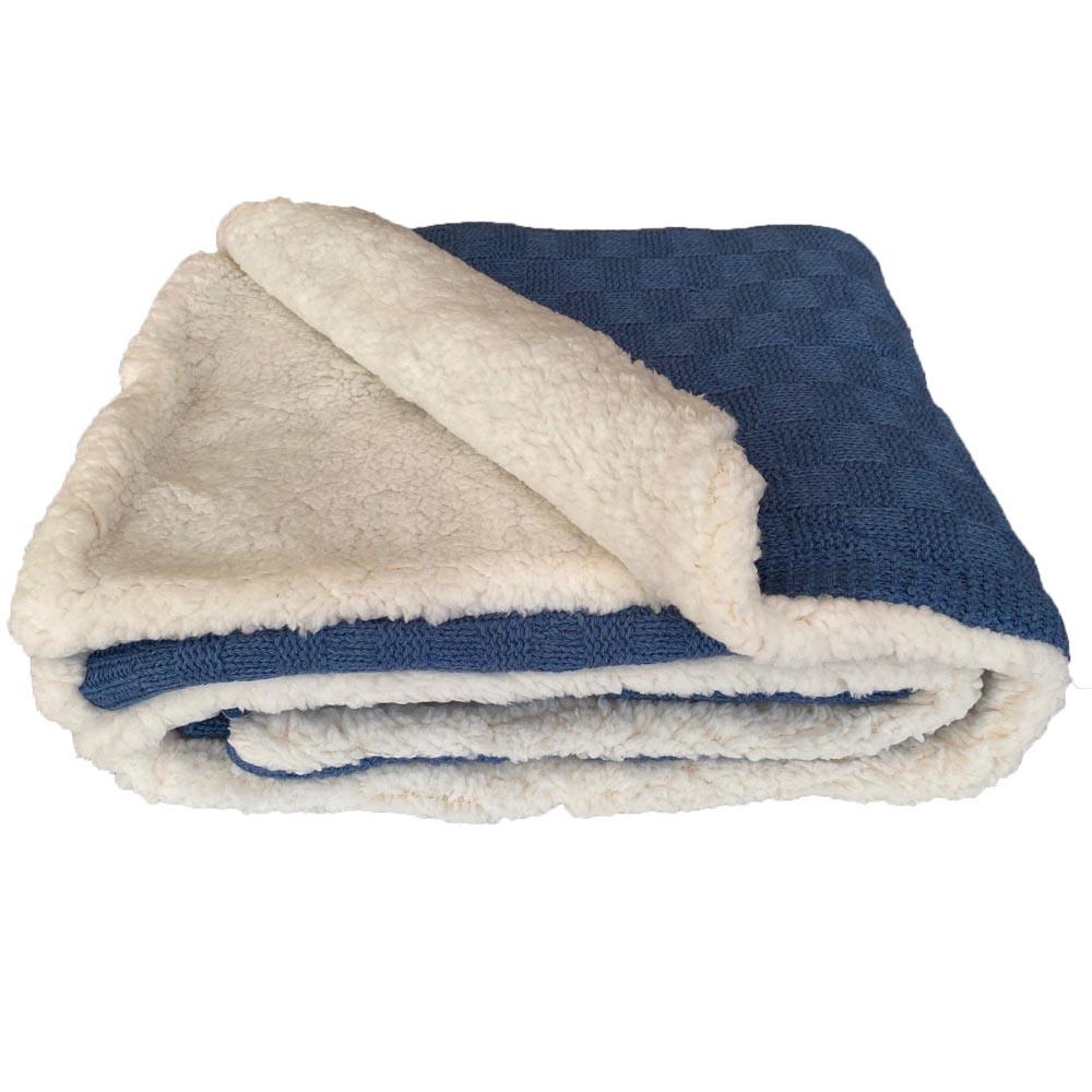 Manta Sherpa Tribus Azul