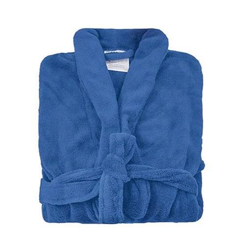 Roupão Camesa  Tamanho Único Unissex  Azul Royal