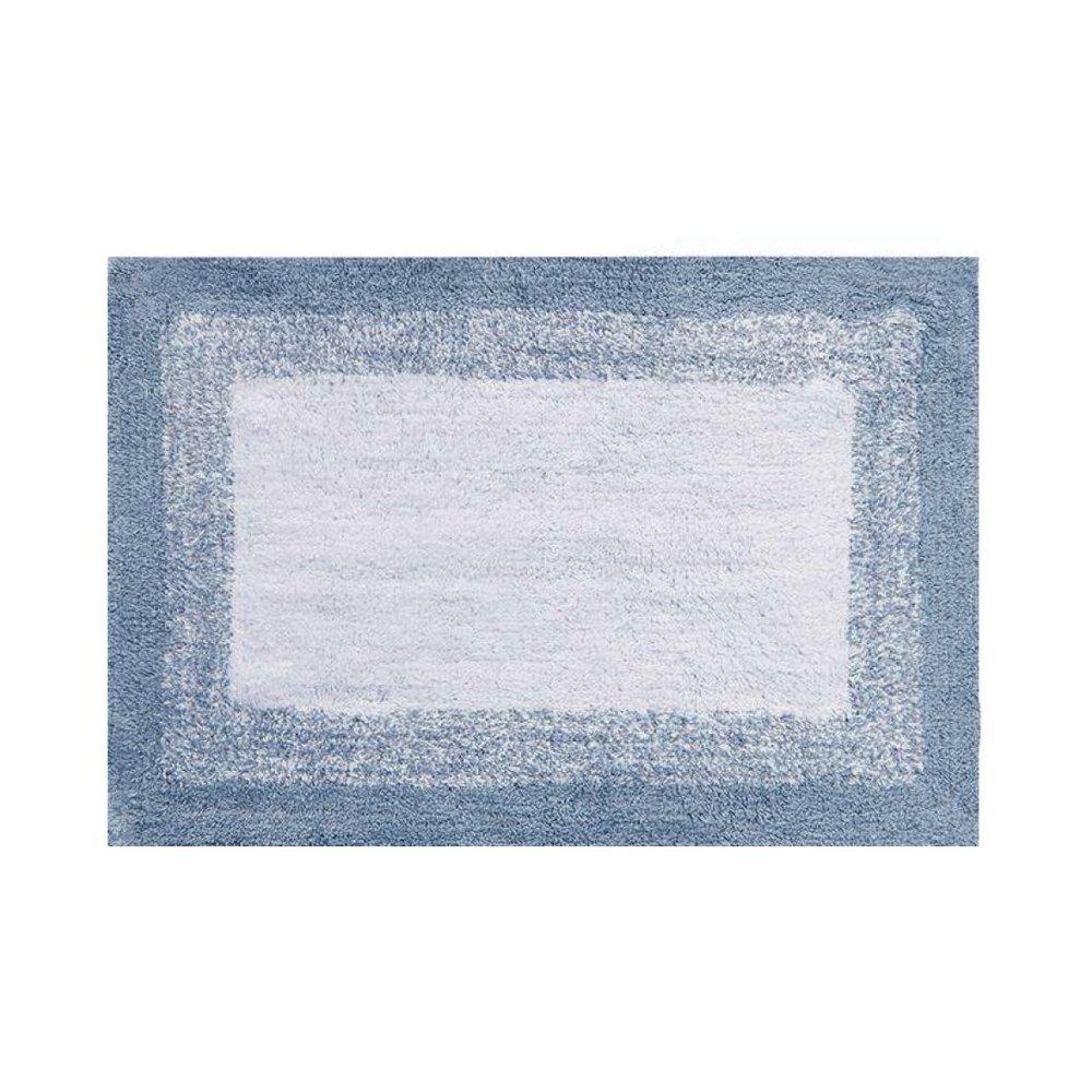 Tapete de banheiro degradê antiderrapante Azul