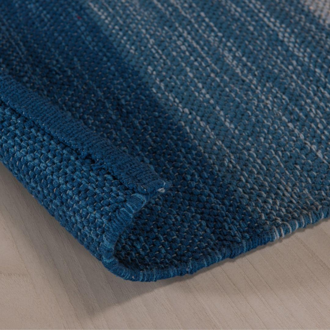 Tapete Kilim Basar 1,40x2,00m Azul