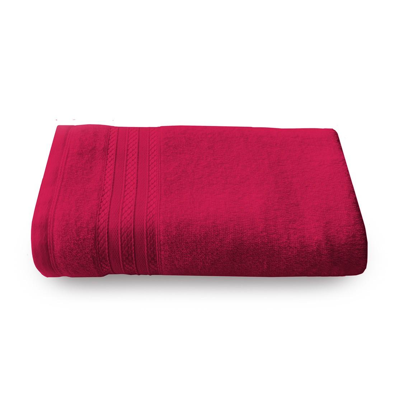 Toalha Avulsa Royal Banho / Rosto  Vermelha
