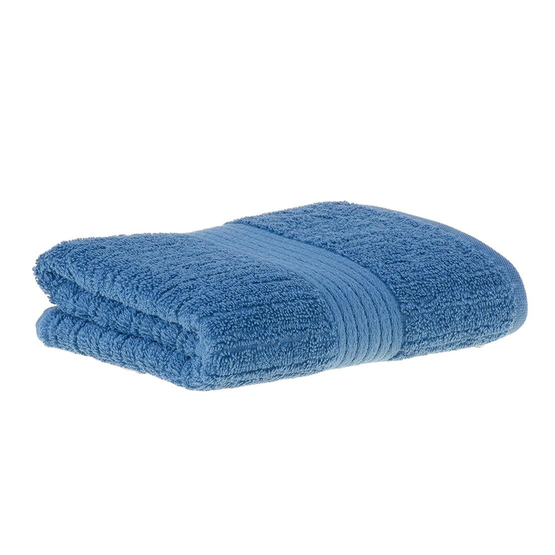 Toalha Buddemeyer Fio Penteado Azul_rosto / banho / banhão