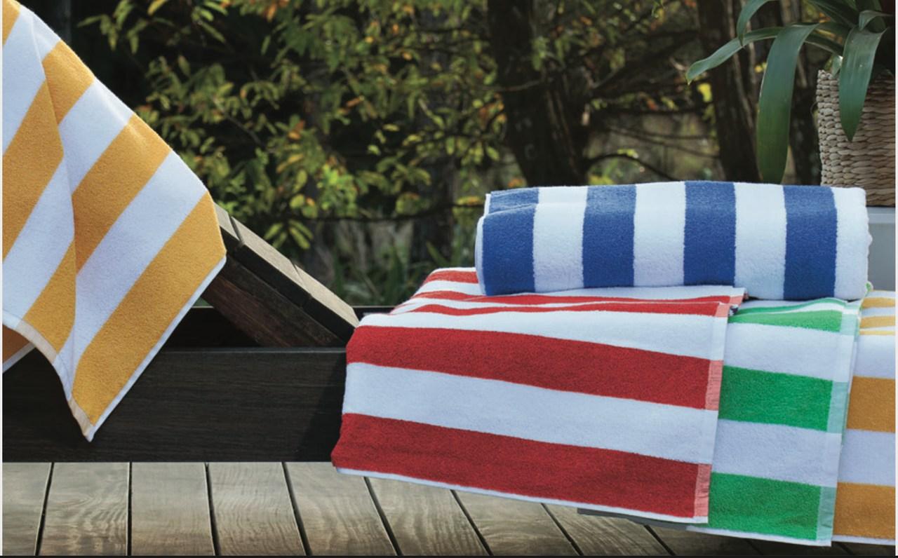 Toalha de praia/piscina Stripes 86 x 160 cm