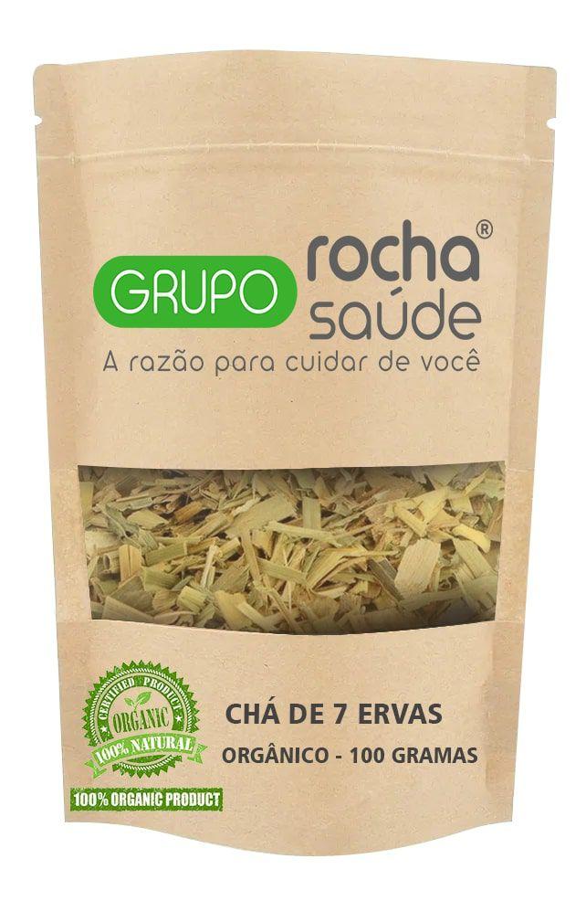 Chá 7 Ervas Orgânicas 100 Gramas
