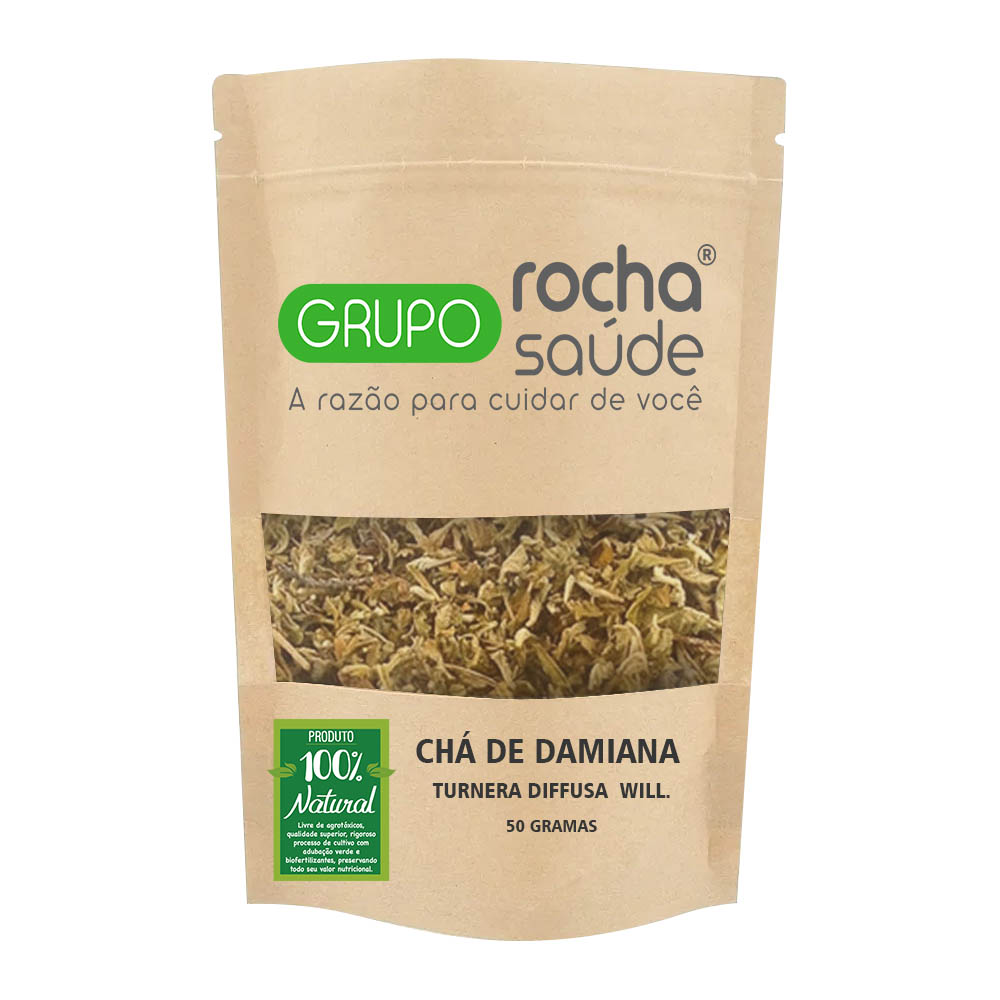 Chá de Damiana - Turnera diffusa  Will. 50g