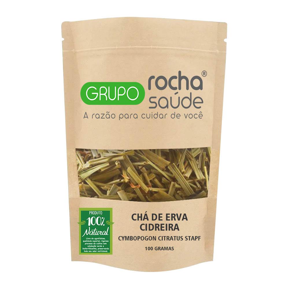 Chá de Erva Cidreira - Cymbopogon citratus Stapf - 100g