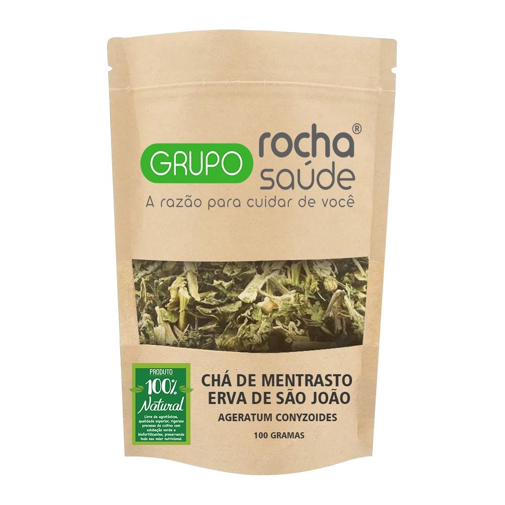 Chá de Mentrasto - Erva de São João -  Ageratum conyzoides - L. - 100g