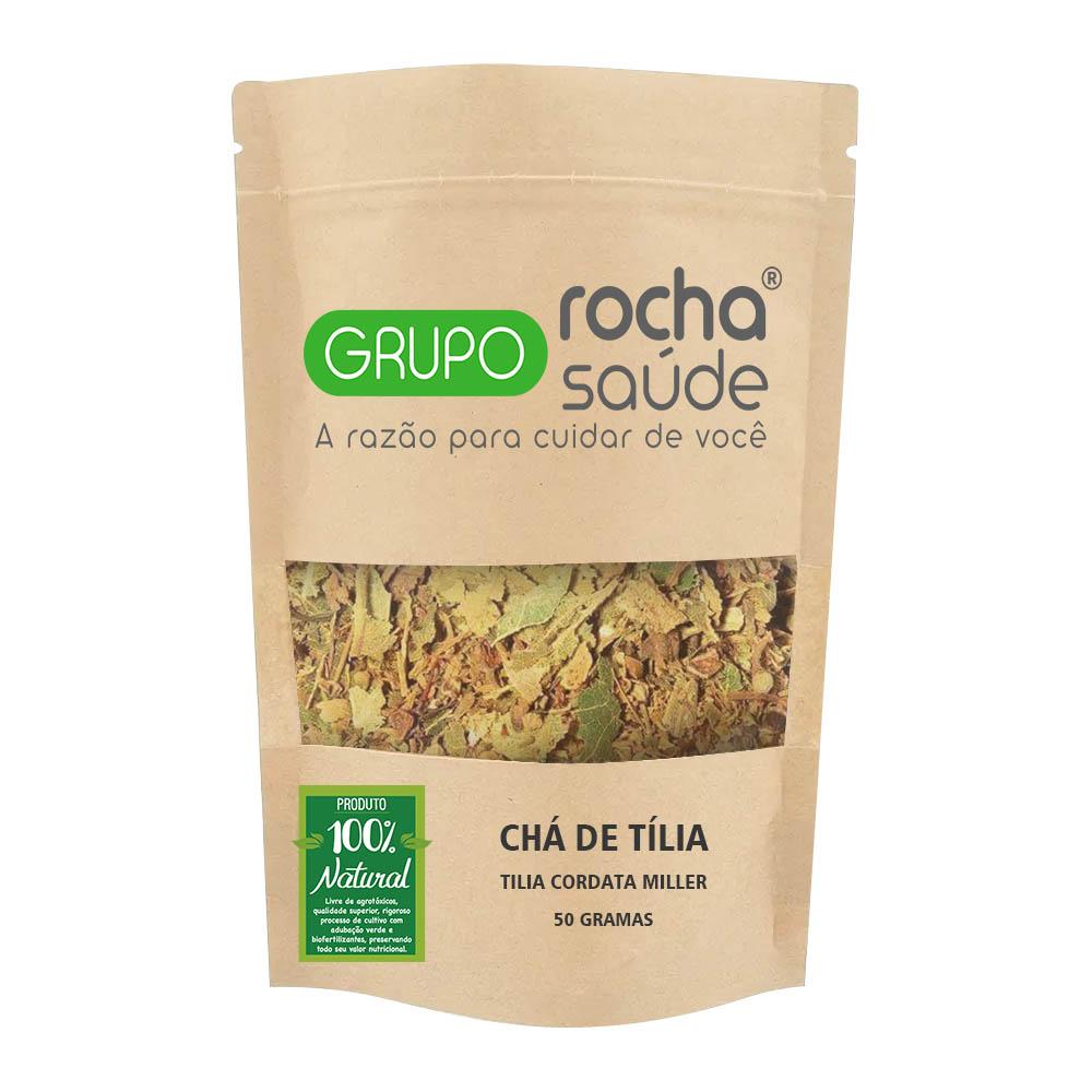 Chá de Tília - Tilia cordata Miller - 50g