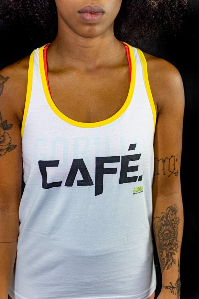REGATA FEMININA CAFÉ BRANCA