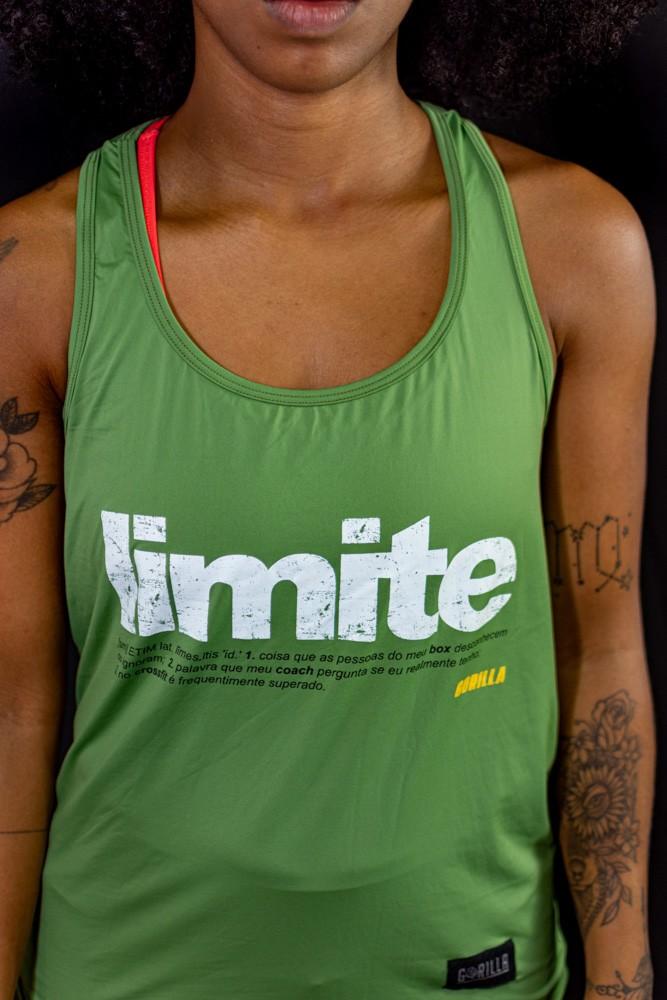REGATA FEMININA LIMITE VERDE