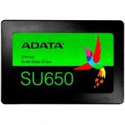 HD SSD Adata SU650, 120GB, SATA, Leitura 520MB/s, Gravação 450MB/s - ASU650SS-120GT-R