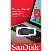 Pen Drive Cruzer Blade Sandisk USB 2.0 16GB SDCZ50-016G-B35