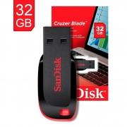 Pen Drive Cruzer Blade Sandisk USB 2.0 32GB SDCZ50-032G-B35