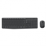 Teclado e Mouse Logitech MK235 Sem Fio ABNT2