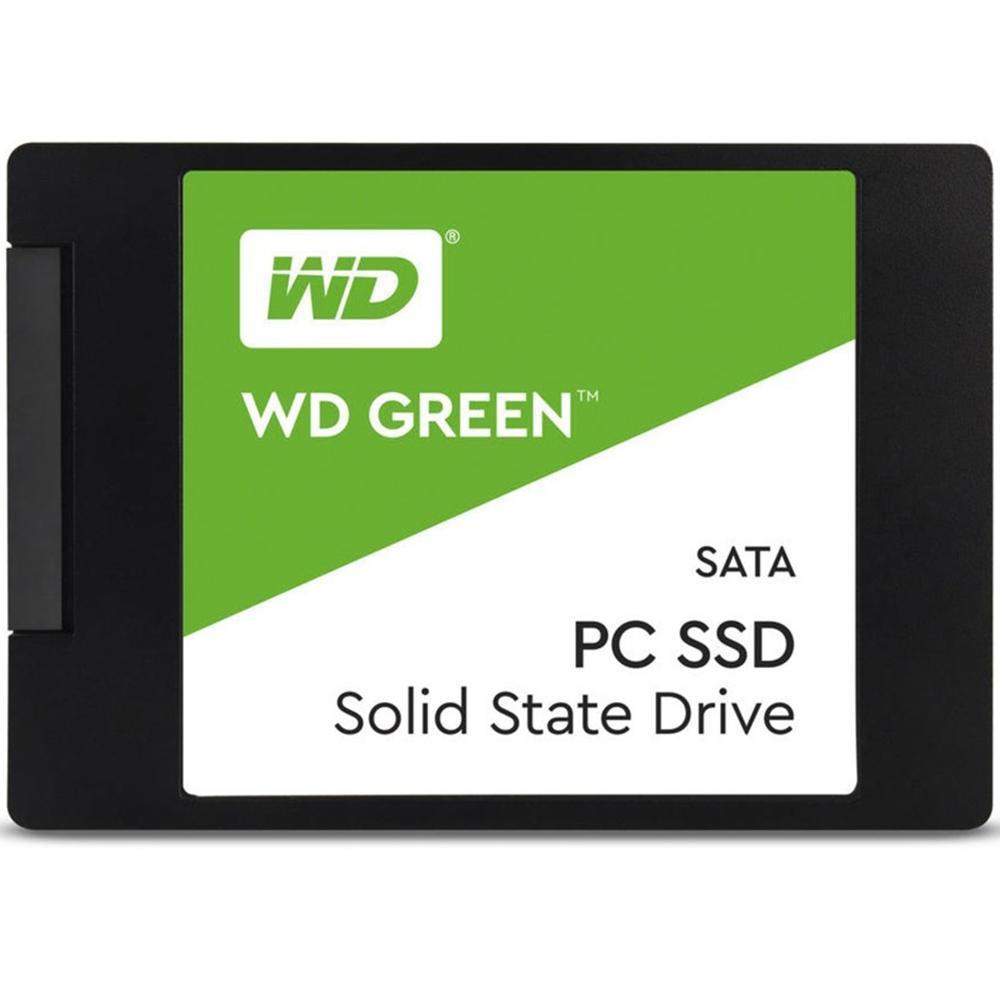 HD SSD WD Green, 480GB, SATA, Leitura 545MB/s, Gravação 430MB/s - WDS480G2G0A
