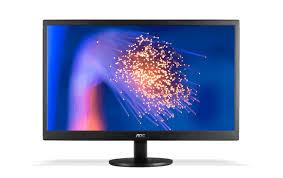 "Monitor AOC 21,5"" LED E2270SWN (VGA, VESA, Ajuste de Inclinação, Screen+, 1920x1080 Full HD)"