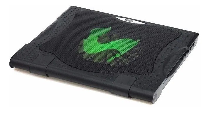 SUPORTE BASE PARA NOTEBOOK COM COOLER DEX DX-005