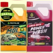 Shampoo Automotivo Carro Power Wash + Xtreme Mol Protelim