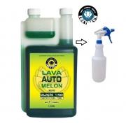 Shampoo Melon Easytech Concentrado +pulverizador 01lt
