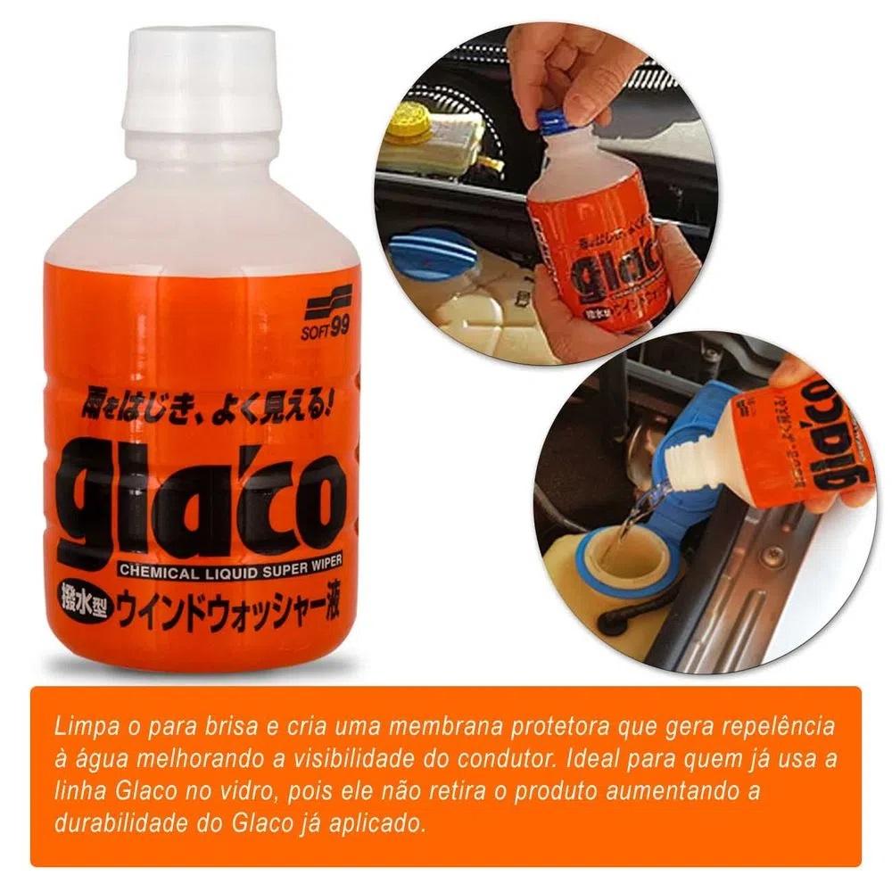 Aditivo Limpante Reservatório Esguicho Glaco Washer Soft99